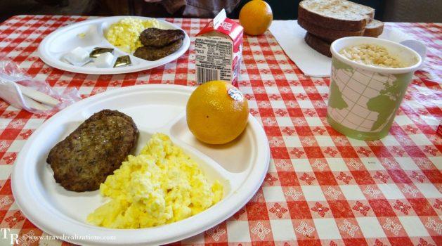 Travel Realizations, Hualapai Ranch, Grand Canyon, Hualapai Lodge, Breakfast