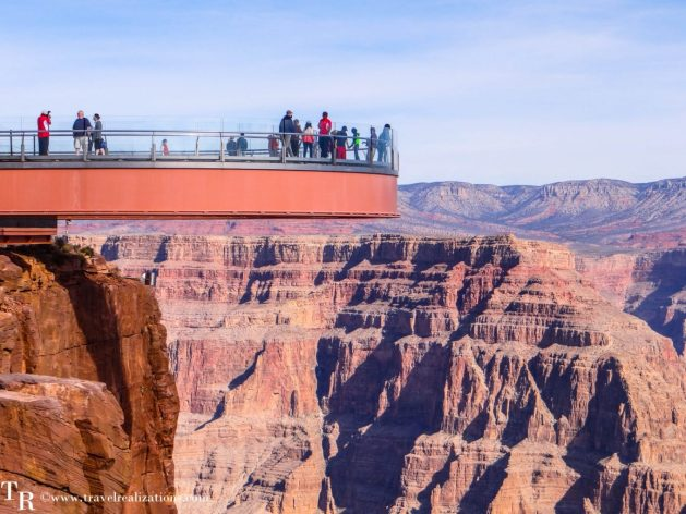 Sky walk Grand Canyon WestRim, Travel Realizations, hualapai indian reservation skywalk