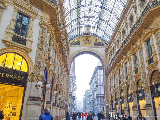 Galleria Vittorio Emanuele - a shopping arcade in Milan, Italy, Travel Realizations