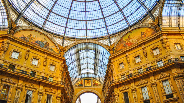Galleria Vittorio Emanuele - a shopping arcade in Milan, Italy!