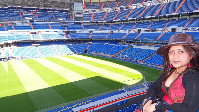 Santiago Bernabeu Stadium – The home of Real Madrid!