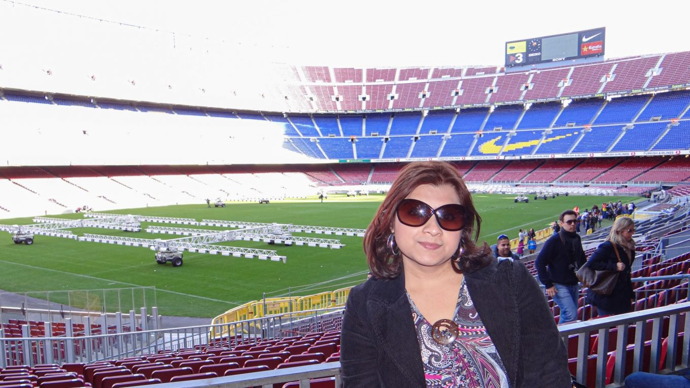 Camp Nou Stadium - The home of Football Club Barcelona!