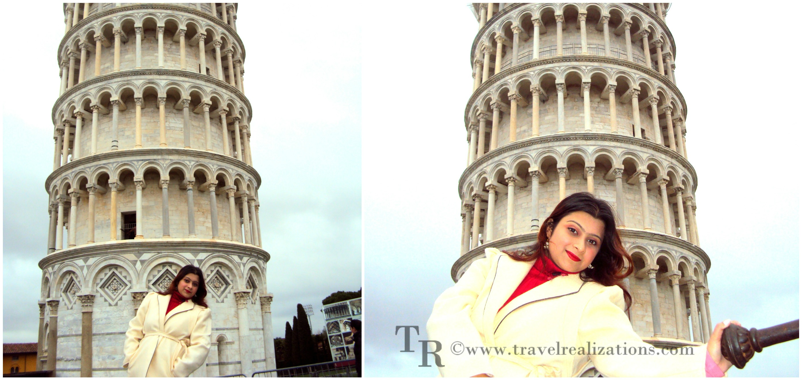 Leaning Tower of Pisa, Italy!