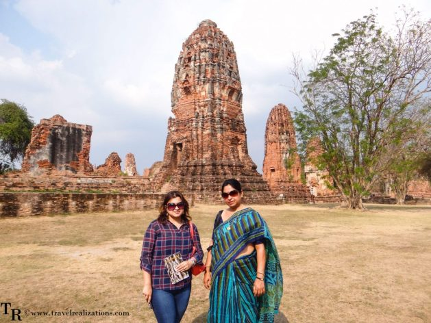 "The imprints of time at ""Wat Maha That"" in Ayutthaya, Thailand, Travel Realizations, Chirasree Bnerjee, Ruins"