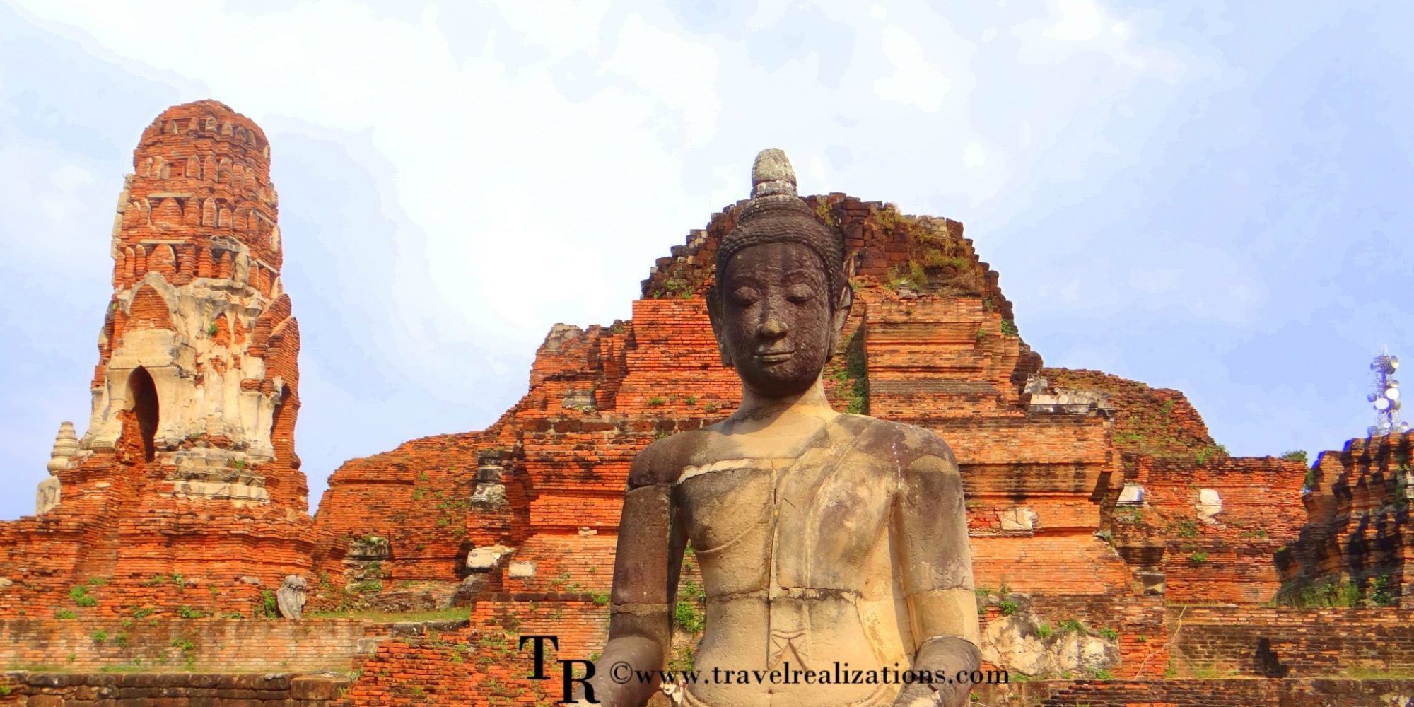"""The imprints of time at """"Wat Maha That"""" in Ayutthaya, Thailand!"""