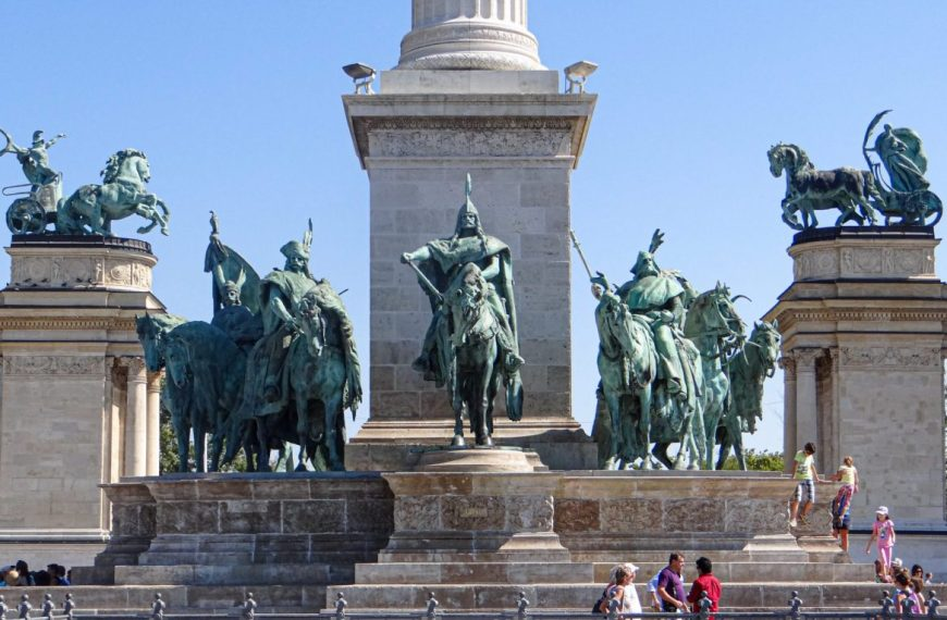 Heroes Square in Budapest, Hungary – A world heritage site!