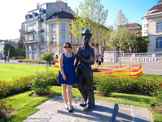 A Rendezvous with Charlie Chaplin in Vevey, Switzerland, Travel Realizations