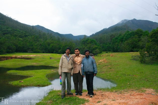 Our forest guard, Siddhartha and Ramanan