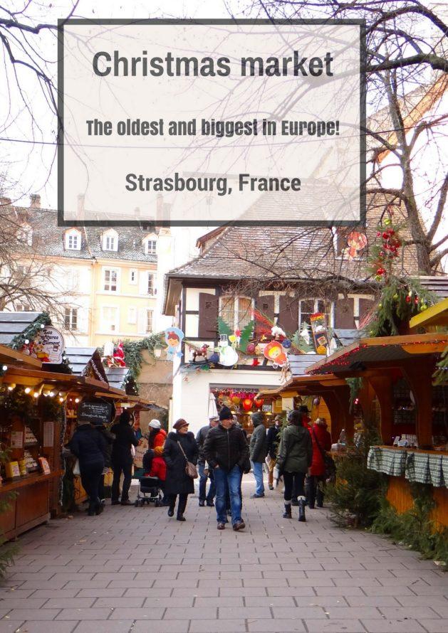 Travel Realizations, Christmas Market, Strasbourg
