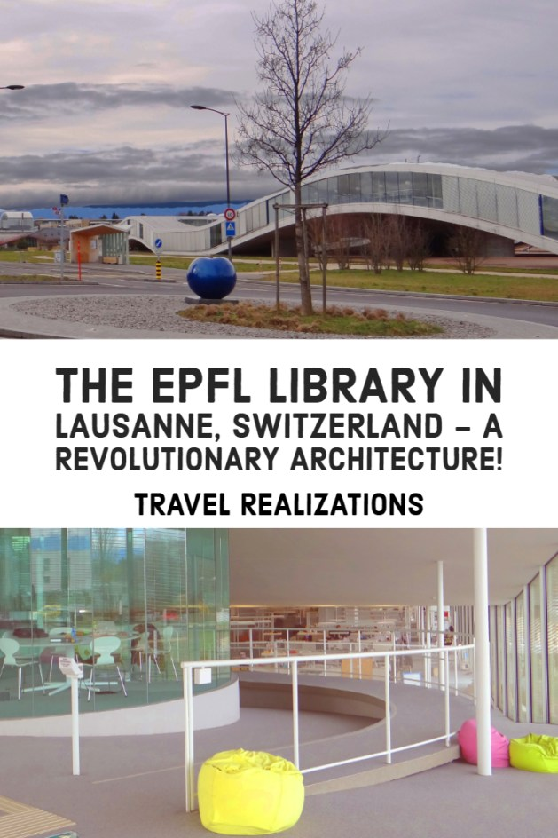 The EPFL library is unique and is designed by the winners of the 2010 Pritzker Prize, which is considered as the architectural Nobel. #Travel #Switzerland #library