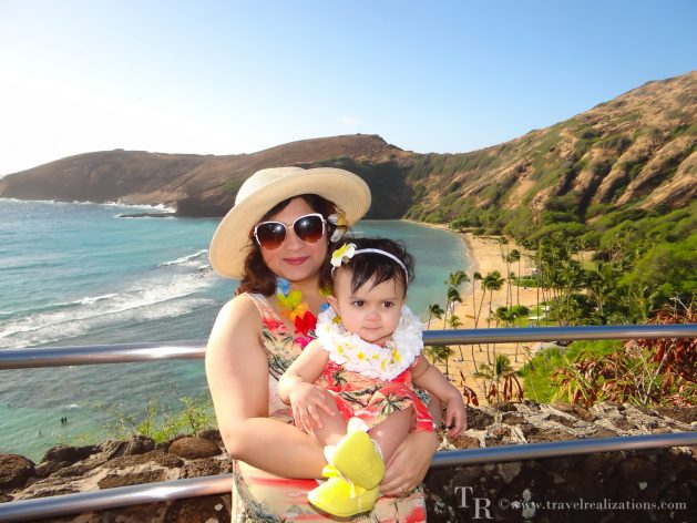 Travel realizations, Hanauma Bay, Hawaii