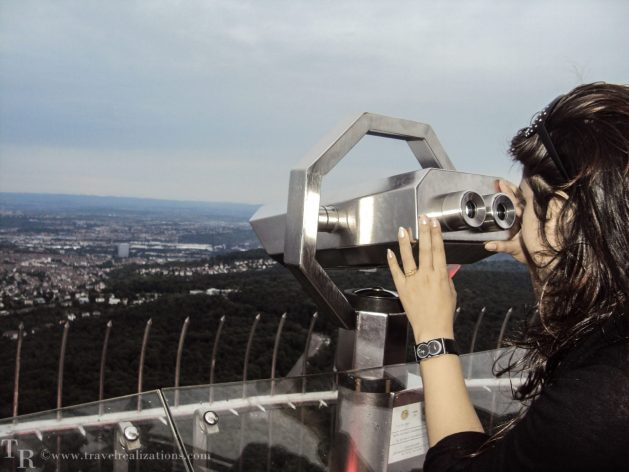 Stuttgart TV tower, Travel Realizations