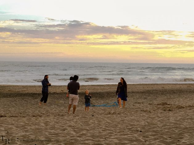 Travel Realizations, Moss Landing State Beach, California, Family Travel, A perfect family evening, Happy times