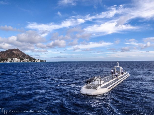 Submarine, Travel Realizations, Pacific, Hawaii, In the depths of the Pacific - A submarine tour in Hawaii