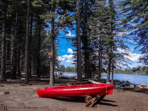Manzanita Lake in Lassen, California - A photo essay, Travel Realizations, boat, lake