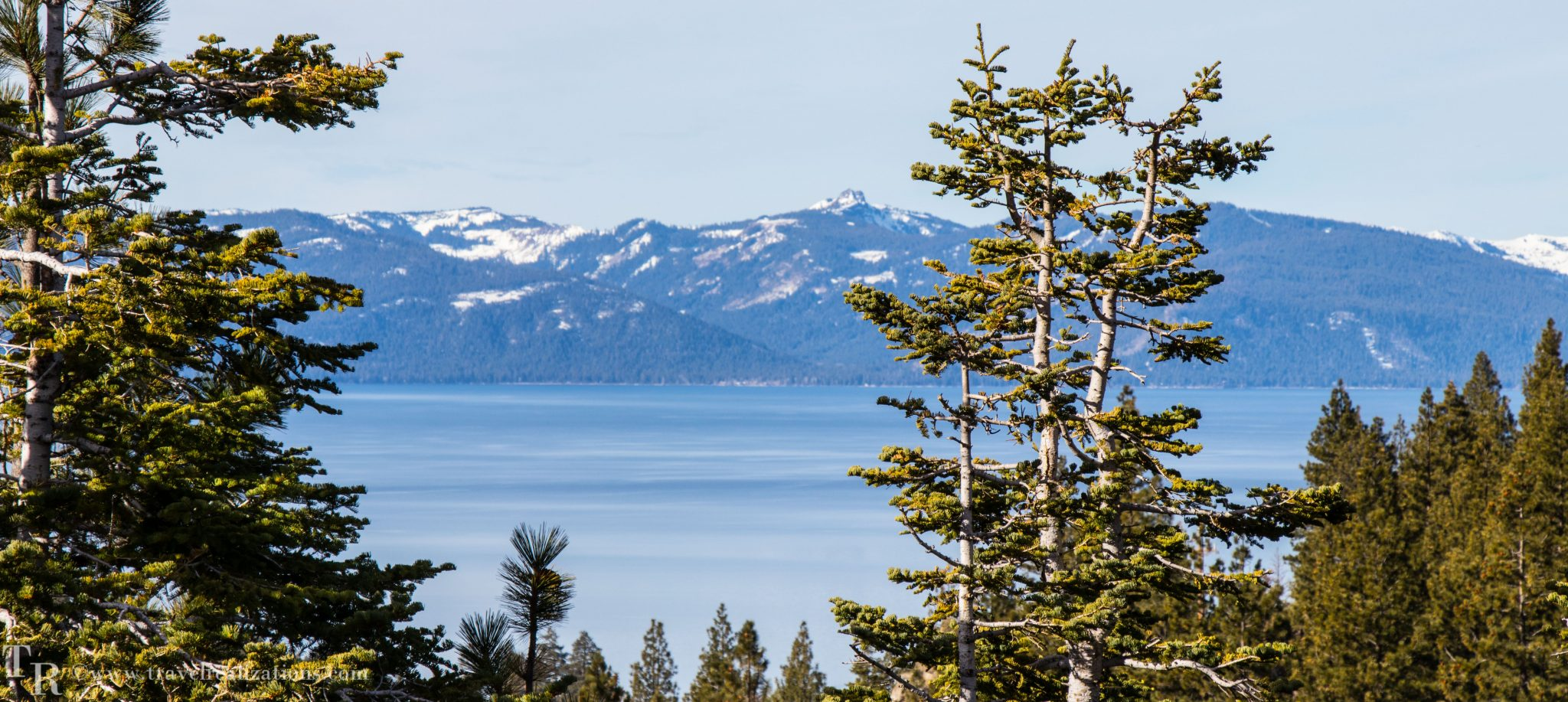 Lake Tahoe, the largest alpine lake in North America!