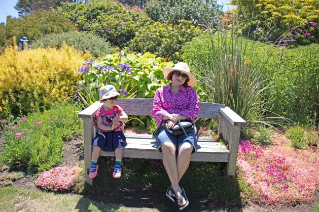 Mendocino coast botanical gardens, JD House - A beautiful boutique hotel in blooming Mendocino, California, JD House, USA, garden, garden in JD House