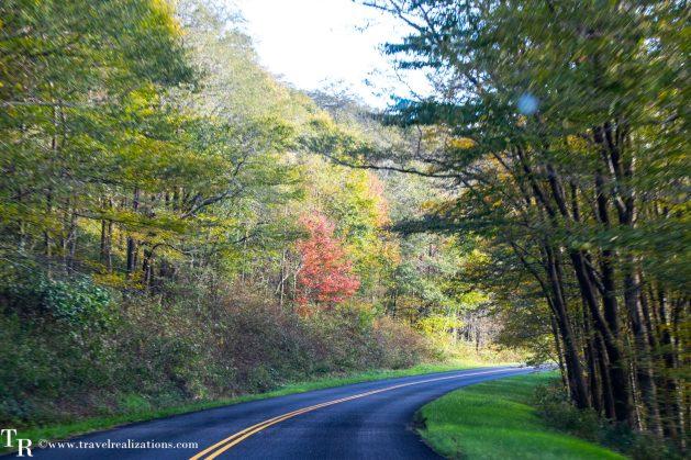 The Blue Ridge Parkway - A passage through paradise, Travel Realizations, USA, North Carolina, fall colors, autumn