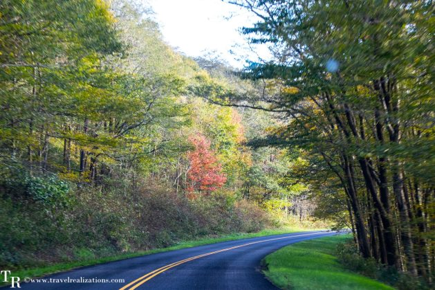 The Blue Ridge Parkway - A passage through paradise, Travel Realizations, USA, North Carolina, fall colors, autumn