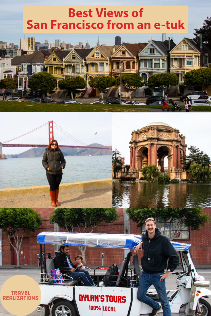 If you ever visit San Francisco, don't just see its best views but also feel the vibes that this city has to offer. Recently, I savored and saw the best views of San Francisco from an e-tuk from Dylan's Tours. I managed to pop inside all the postcard-perfect and famous frames in San Francisco.