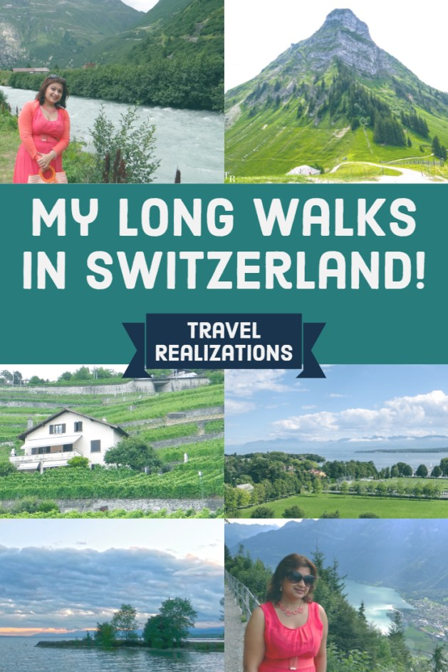 My Long Walks in Switzerland, Travel Realizations