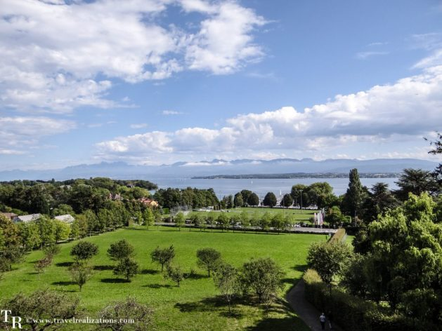 My Long Walks in Switzerland, Travel Realizations, Lake Geneva, Prangins
