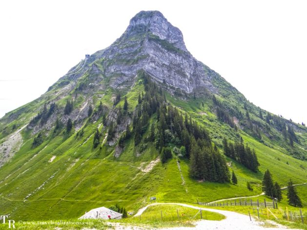 My Long Walks in Switzerland, Travel Realizations, mountain Moléson.