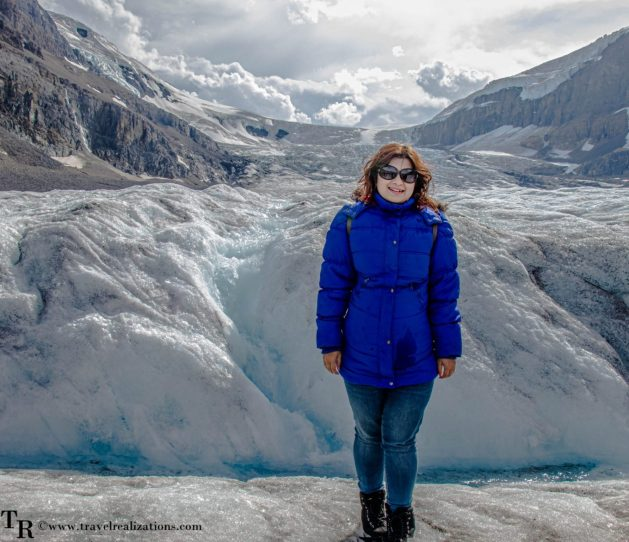 Chronicles of Canadian Rockies - Banff and Jasper, Travel Realizations, Athabasca Glacier, Columbia Icefields