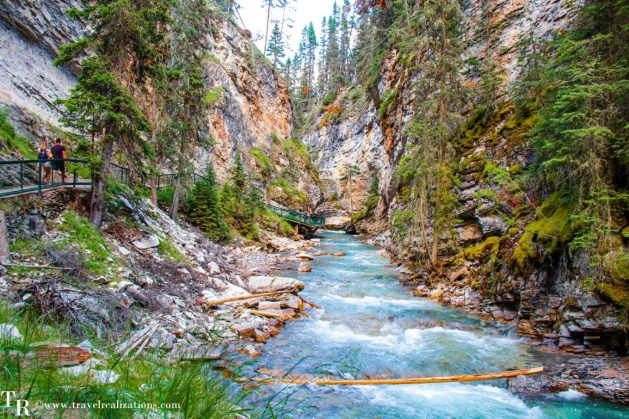 Chronicles of Canadian Rockies - Banff and Jasper, Travel Realizations, Johnston Canyon
