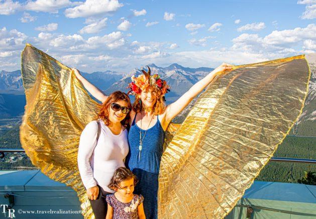 Chronicles of Canadian Rockies - Banff and Jasper, Travel Realizations, Banff Gondola