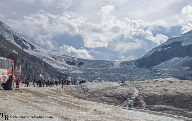 Chronicles of Canadian Rockies - Banff and Jasper, Travel Realizations, Athabasca Glacier, Chronicles of Canadian Rockies - Banff and Jasper, Travel Realizations, Athabasca Glacier, Columbia Icefields