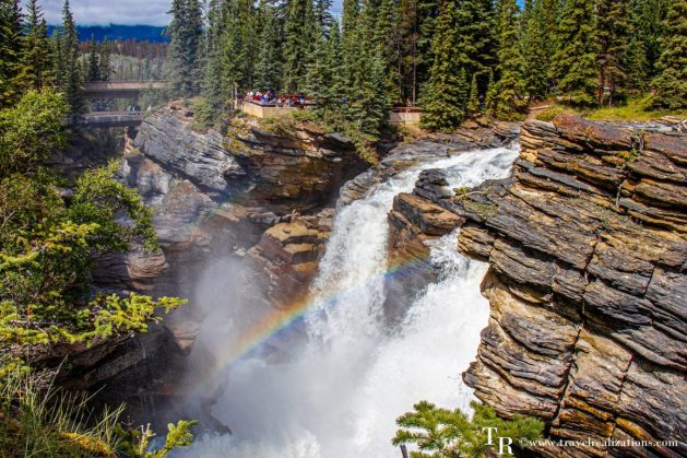 Chronicles of Canadian Rockies - Banff and Jasper, Travel Realizations, Athabasca Falls