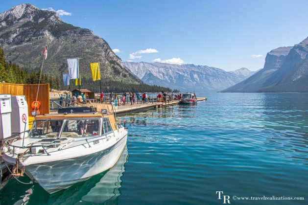 Chronicles of Canadian Rockies - Banff and Jasper, Travel Realizations, lake  Minnewanka,