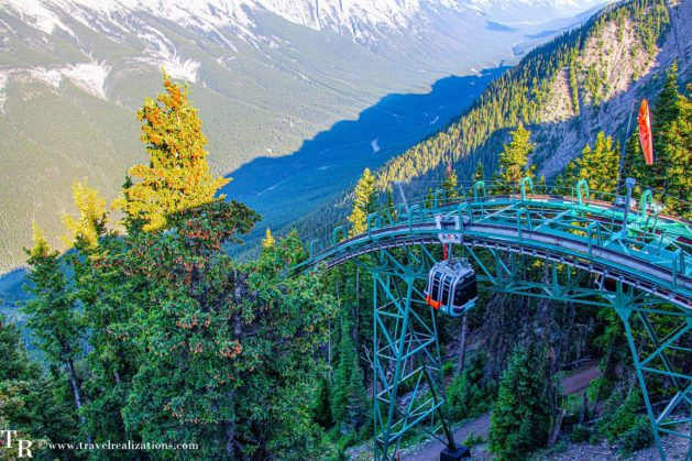 Canadian Rockies from Banff Gondola, Travel Realizations