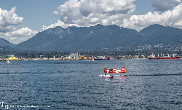 Beautiful Vignettes of  Vancouver, Travel Realizations, Vancouver Harbour Cruise, sea plane