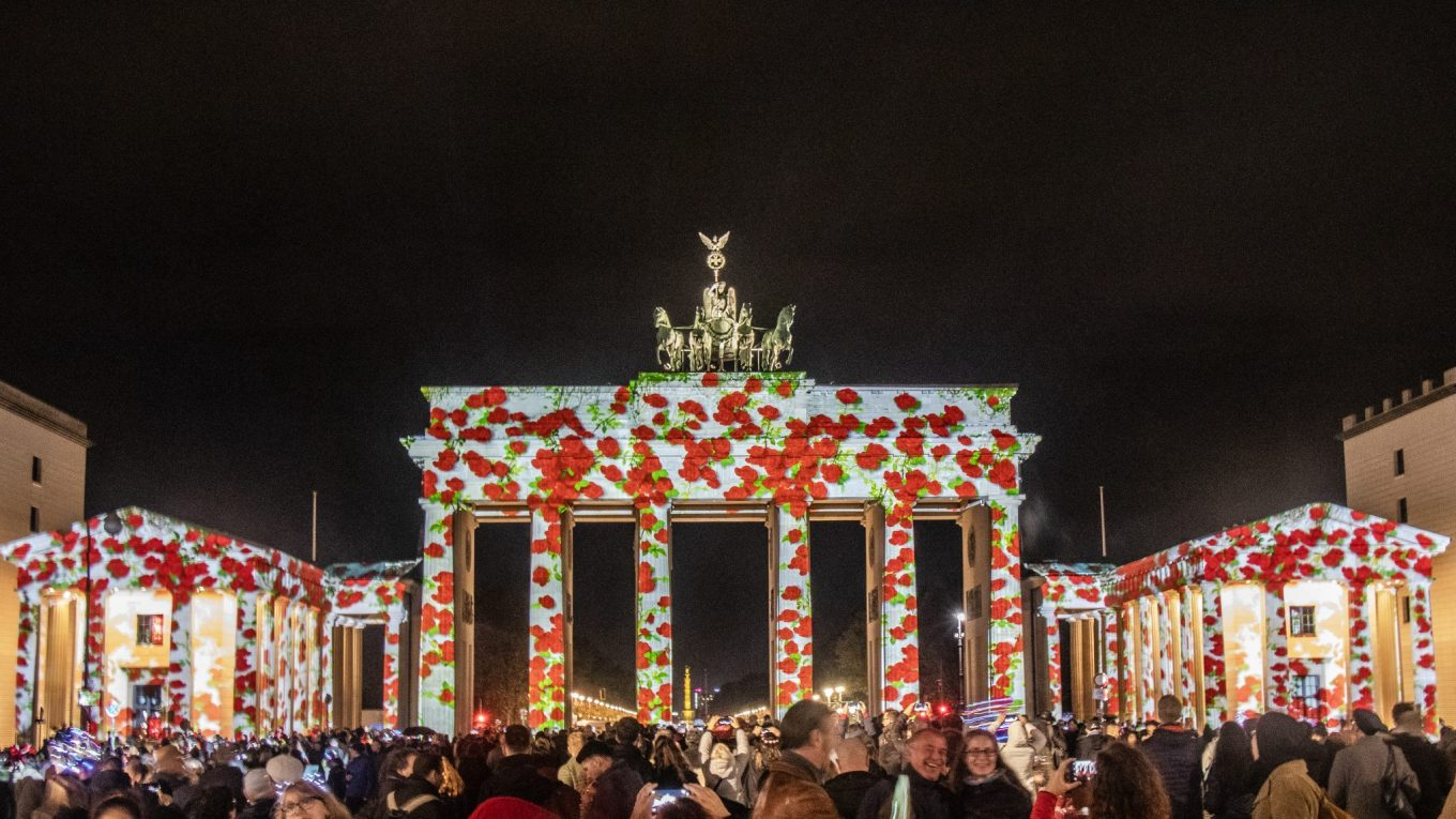 The Festival of Lights in Berlin, Germany!