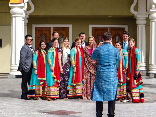 A fleeting witness of weddings, Travel Realizations, San Jose, California