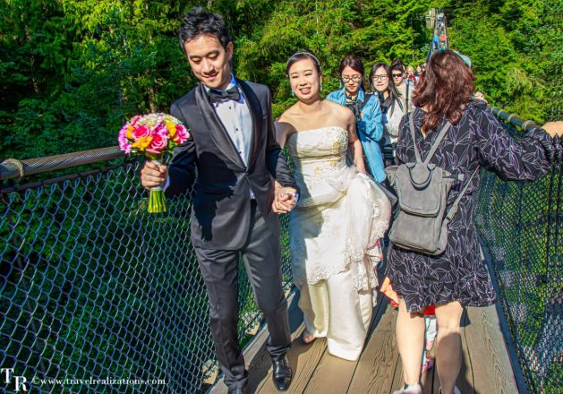 A fleeting witness of weddings, Travel Realizations, Vancouver