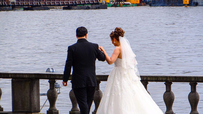 A fleeting witness of weddings!