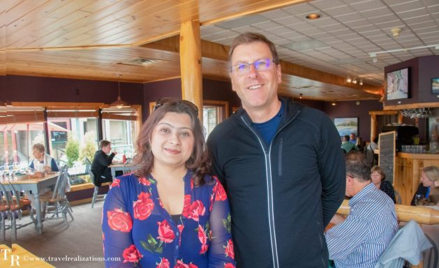 A delicious evening at Fiddle River restaurant in Jasper, Travel Realizations