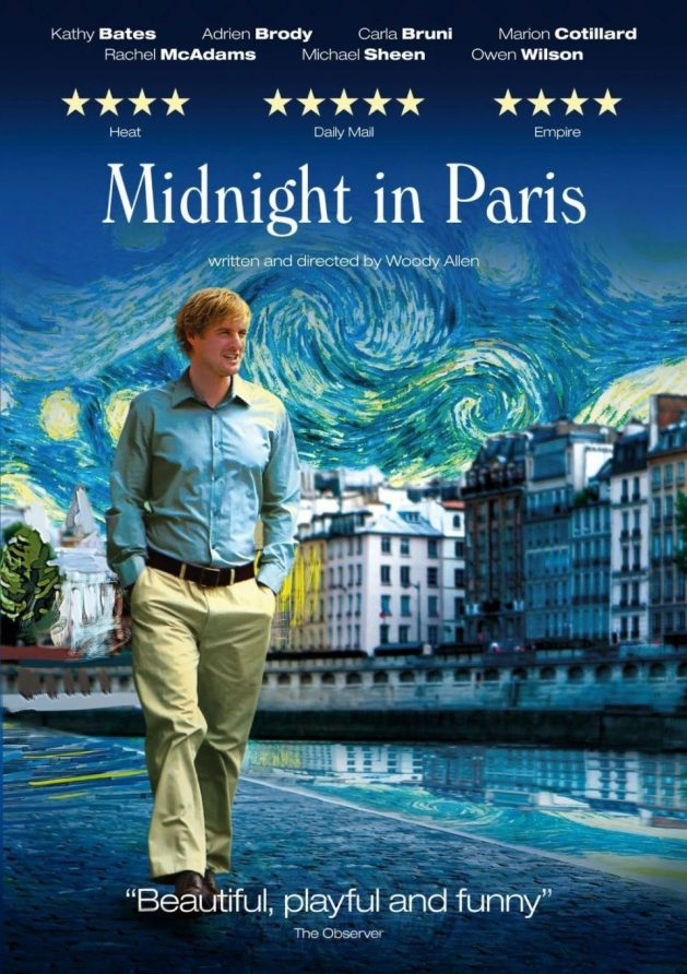 Movies set in Europe to spark your wanderlust, Travel Realizations,  Midnight in Paris, Paris