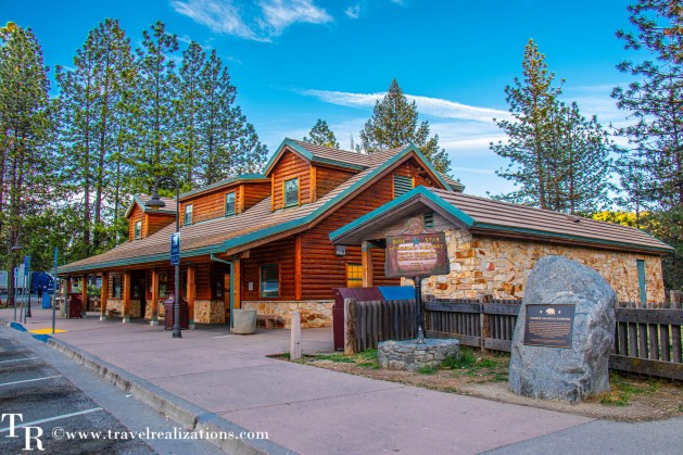 Lake Tahoe in Summer, Travel Realizations, Gold Run Rest Area on I-80