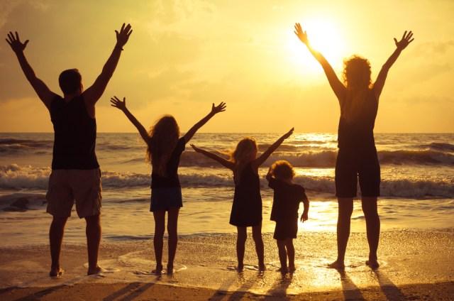 Family Beach 2