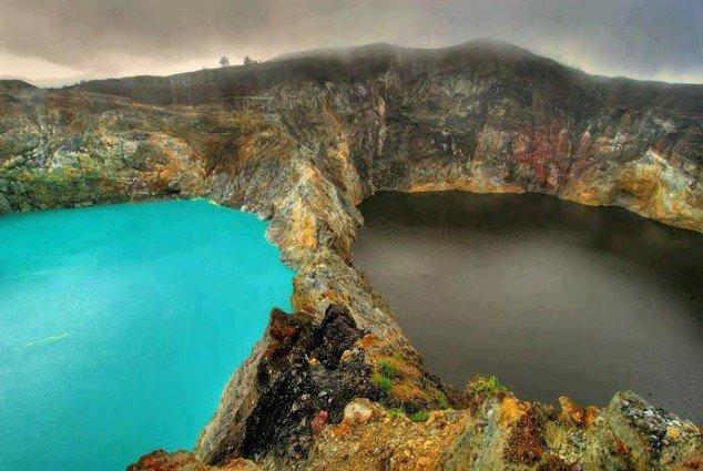 The Lakes of Mount Kelimutu, Indonesia