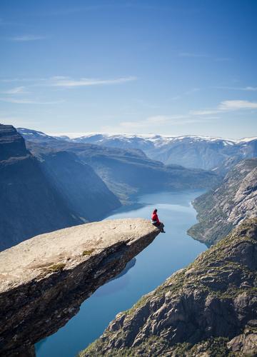 Trolls Tongue Norway