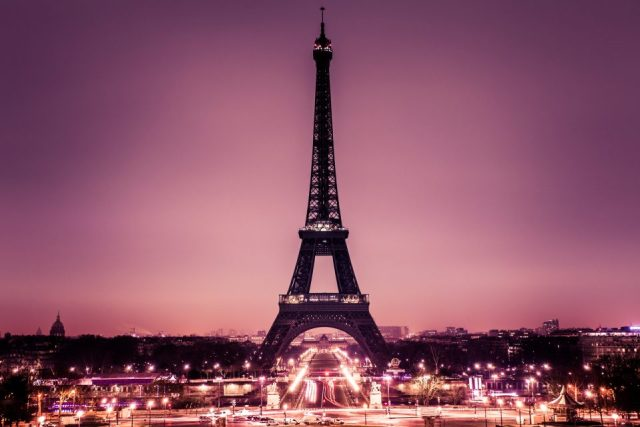 The Tour Eiffel in Paris