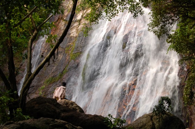 highest waterfall in koh samui, Namuang Waterfall