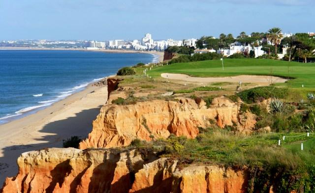 Algarve golf coastal scenario, Portugal