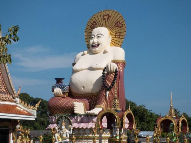 Temple Wat Plai Leam at Koh Samui