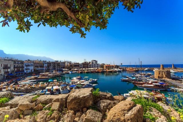 Marina in charming Kyrenia, Northern Cyprus